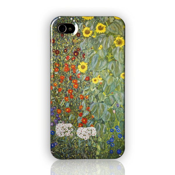 Gustav Klimt Sunflowers case iPhone 4/4S