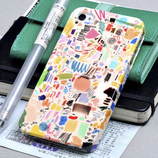 Mia Christoper 'Scribbles' case iPhone 4/4S
