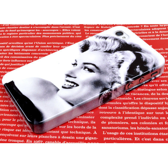 Marilyn in Black and White for iPhone 4/4S