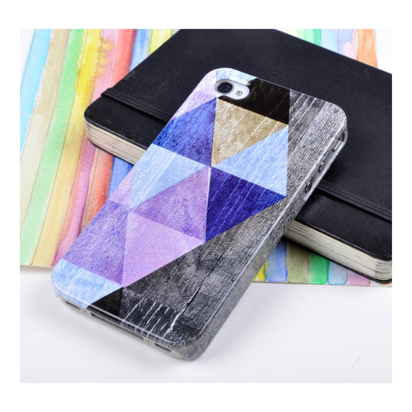Coloured Triangles case for iPhone 4/4S