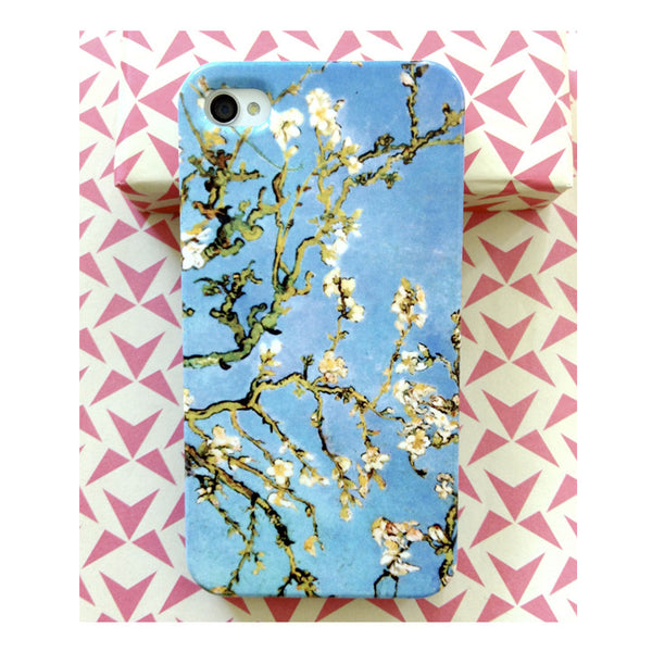 Almond Blossoms by Van Gogh for iPhone 4/4S