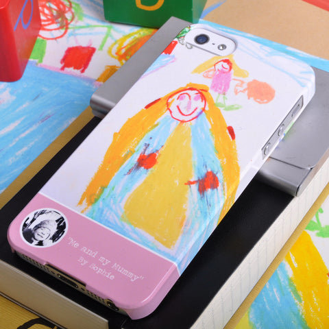 Personalised Children's Art Case for iPhone 5/5S