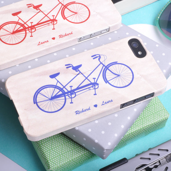 Bicycle made for two case for iPhone 5/5S