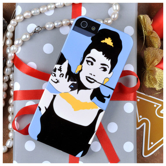 Audrey Hepburn case for iPhone 5/5S