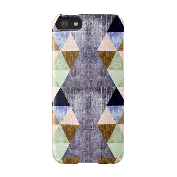 Personalised Triangles case for iPhone 5/5S