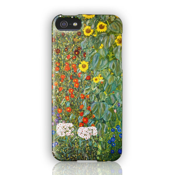 Gustav Klimt Sunflowers phone case iPhone 5/5S