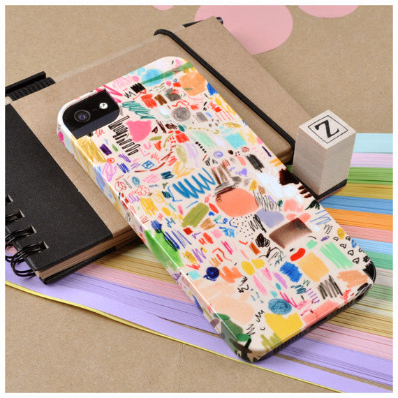 Mia Christoper 'Scribbles' case iPhone 5/5S