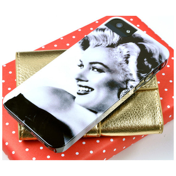 Marilyn in Black and White for iPhone 5/5S