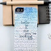 Personalised hidden message case iPhone 5/5S