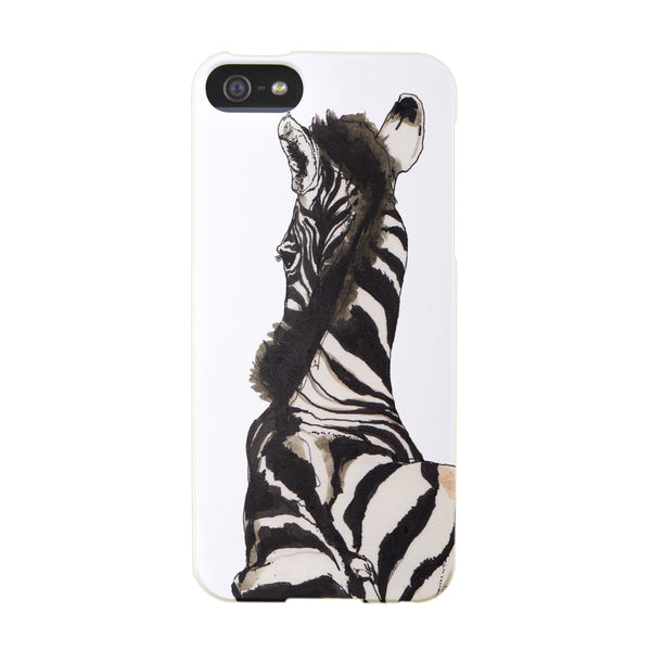 """Zebra"" case by Mina Milk iPhone 5/5S"