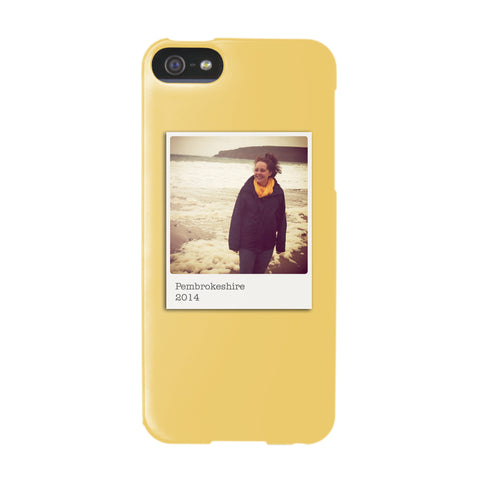 Personalised Colour Photo iPhone 5/5S case