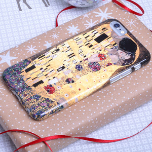 Gustav Klimt 'The Kiss' Phone case