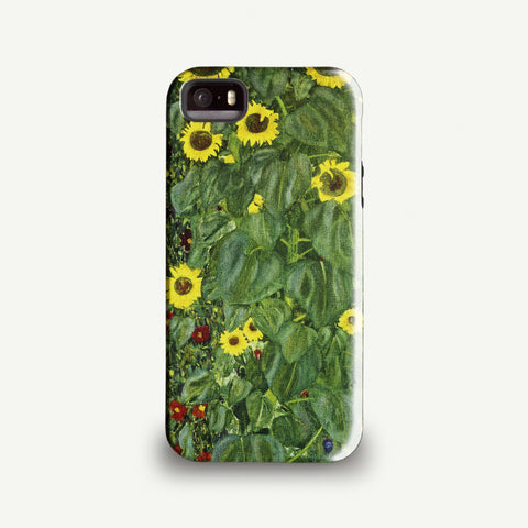 Gustav Klimt 'Sunflowers' Phone case