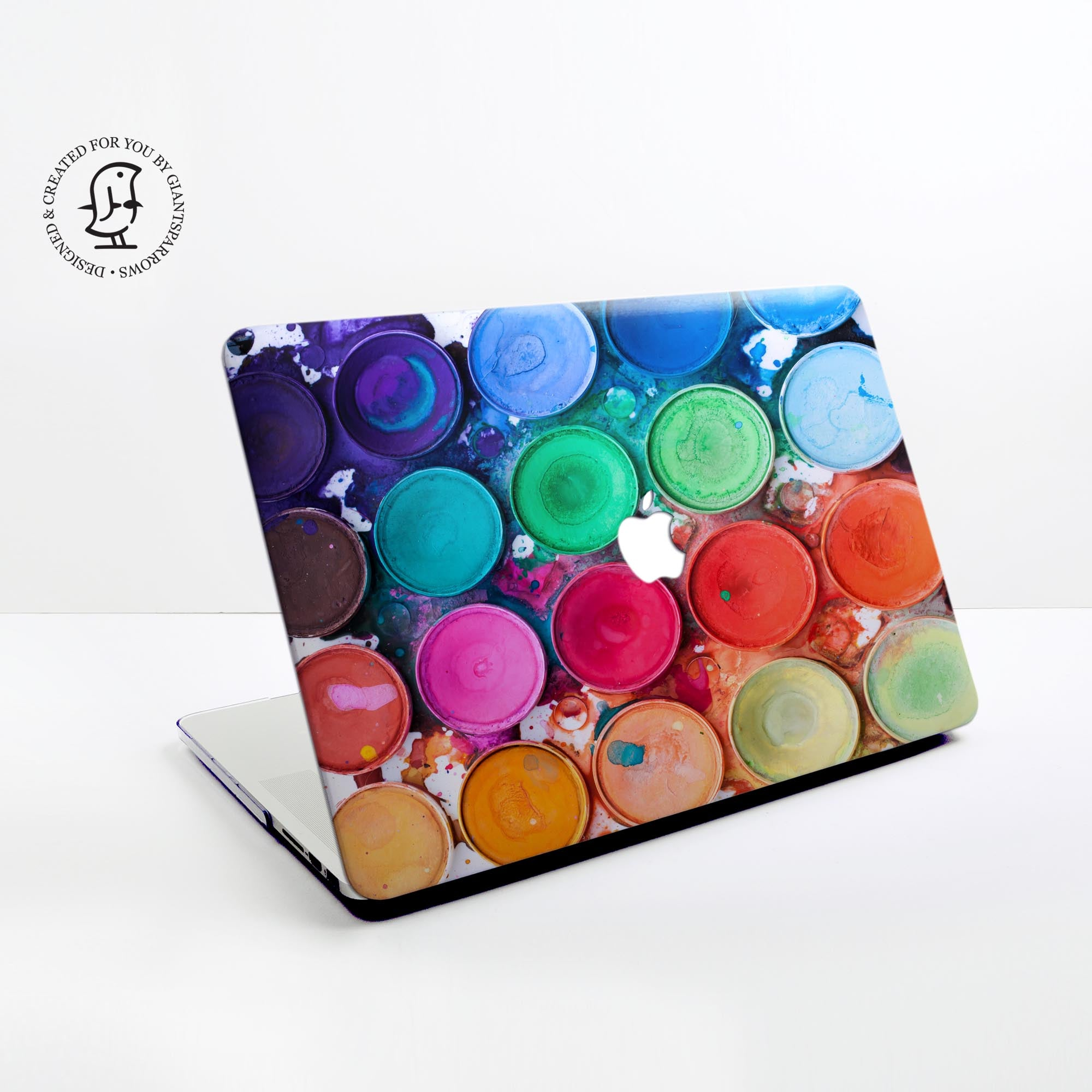 Paint Palette Design Hard Protective Case for all MacBooks