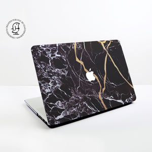 Japanese Gold Kintsugi Design Hard Protective Case for all MacBooks
