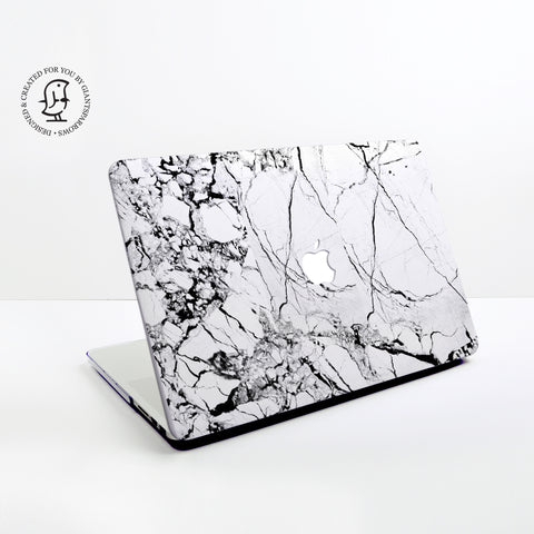 Marble White Design Hard Protective Case for all MacBooks
