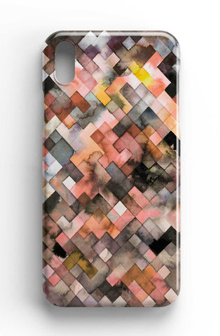Ninola Design Moody Geometry Rustic Phone Case
