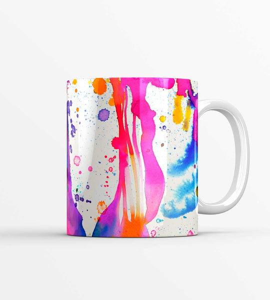 Dripping Paint Splashes Mug