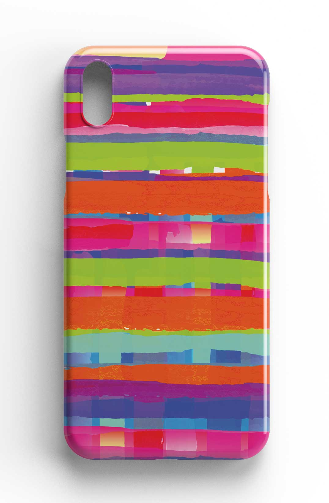 Curtain of Colour - Watercolour Design Phone Case