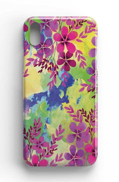 Wandering Flowers - Watercolour Design Phone Case