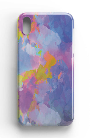 Purple Watercolour Abstract - Cloud Digital Art Phone Case