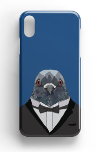 "Casey Rogers Illustrated Phone Case ""Pigeon"""