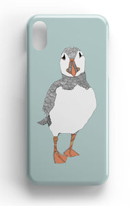 "Casey Rogers Illustrated Phone Case ""Puffin1"""