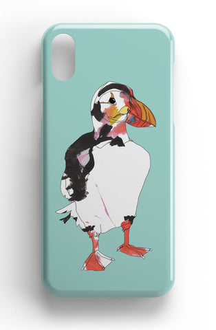 "Casey Rogers Illustrated Phone Case ""Puffin2"""