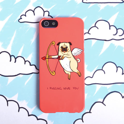 Pug Love' Case For iPhone 4/4S