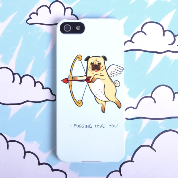 Pug Love' Case For iPhone 5/5S