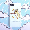 'Pug Love' Case For iPhone 5/5S
