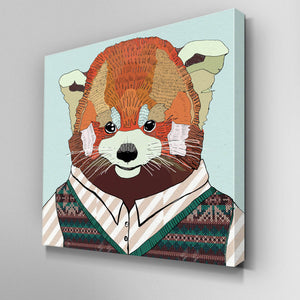 Red Panda Canvas Picture