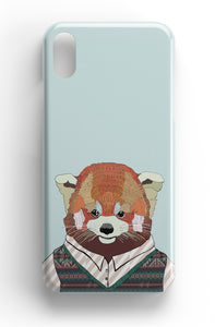 "Casey Rogers Illustrated Phone Case ""Red Panda"""
