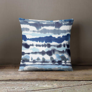 Ninola Design Watercolour Soft Nautical Lines Cushion