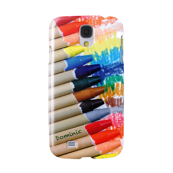 Personalised Crayons Phone Case