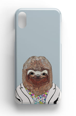 "Casey Rogers Illustrated Phone Case ""Sloth"""