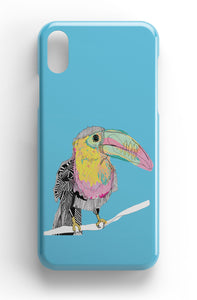 "Casey Rogers Illustrated Phone Case ""Toucan"""