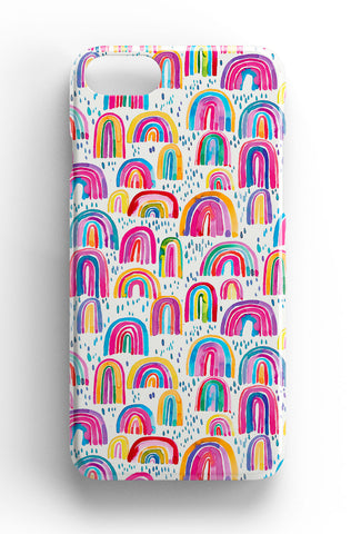 Ninola Design Watercolour Rainbows Phone Case