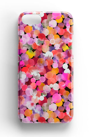 Ninola Design Pink Watercolour Dots Phone Case