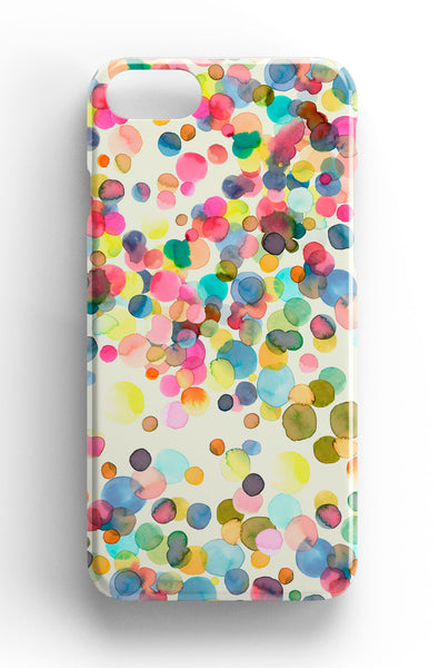 Ninola Design Watercolour Dots Phone Case