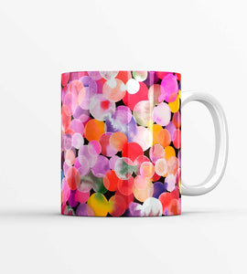Watercolour Candy Dots Mug