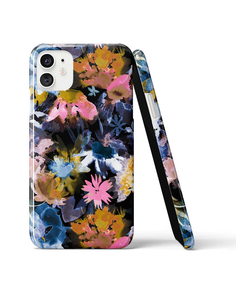 Ninola Design Watercolour Spring Memories Black Phone Case