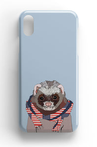 "Casey Rogers Illustrated Phone Case ""Weasel"""