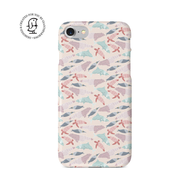 """All Creatures"" Arctic Space Collection Phone Case"