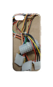 Circuit Board Phone Case - Cables