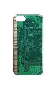 Circuit Board Phone Case - Green Board