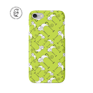 "Martina Pavlová Illustrated Phone Case ""Cat Love"""