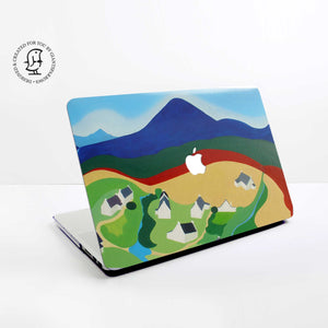 "Clare Galloway ""High Corrie 1"" Design Hard Protective Case for all MacBooks"