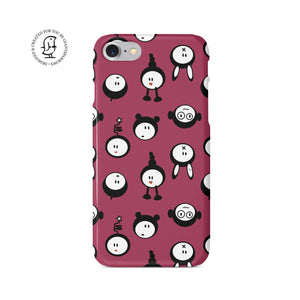 "Martina Pavlová Illustrated Phone Case ""Cute Guys"""