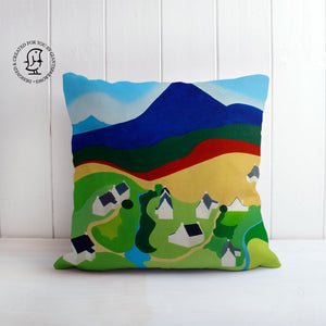 "Clare Galloway Design Cushion - ""High Corrie"""